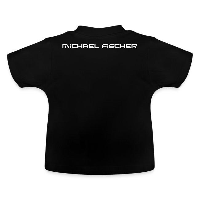 MF Baby T-shirt logo/weiss