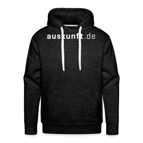 Hoodie Auskunft.de (Männer) - Männer Premium Hoodie