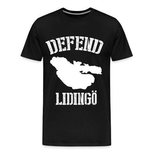 Defend Lidingö, Den officiella tröjan! - Premium-T-shirt herr