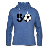 50 Geburtstag Fußball Pullover & Hoodies