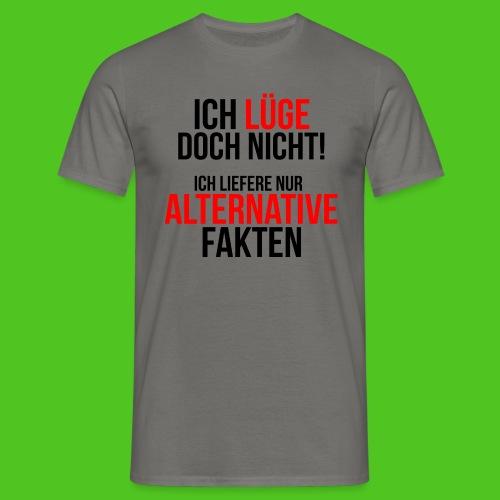Alternative Fakten - Männer T-Shirt - farbwahl - Männer T-Shirt