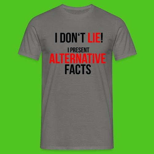 Alternative Facts - Männer T-Shirt - farbwahl - Männer T-Shirt
