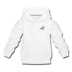 Hette-genser barn/ungdom, hvit/lyse farger - Premium Barne-hettegenser