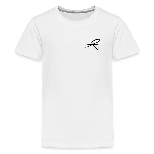 T-skjorte tenåringer, hvit og lyse farger - Premium T-skjorte for tenåringer