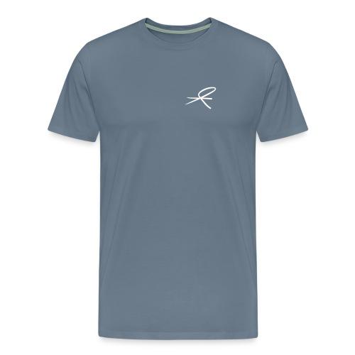 T-skjorte herre, mørke farger - Premium T-skjorte for menn