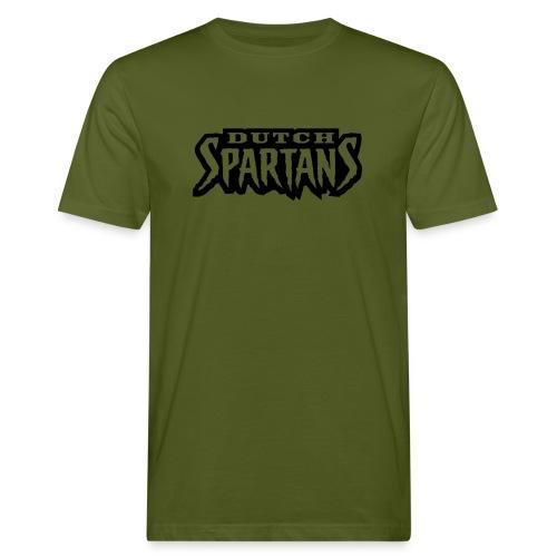 Wordmark olive - Mannen Bio-T-shirt