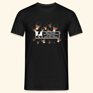 Malthead Warning, Glasses - Männer T-Shirt