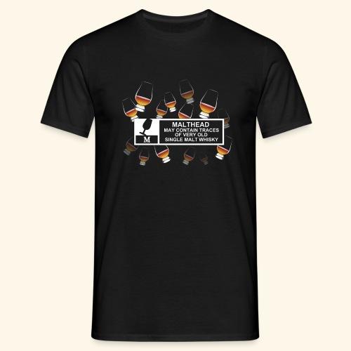 Malthead Warning, Glasses - Männer T-Shirt