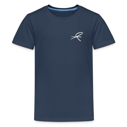 T-skjorte tenåringer, mørke farger - Premium T-skjorte for tenåringer