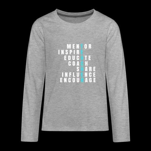 Teacher - Lehrer - Teenager Premium Langarmshirt