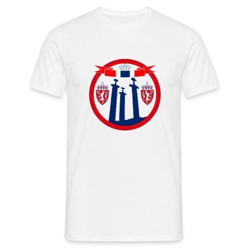 The Kingdom of Norway - T-skjorte for menn