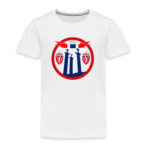 The Kingdom of Norway - Premium T-skjorte for barn