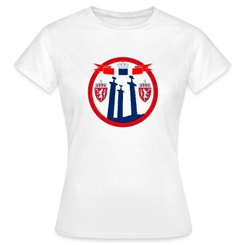 The Kingdom of Norway - T-skjorte for kvinner