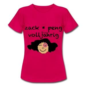 zack peng volljährig T-Shirts - Frauen T-Shirt