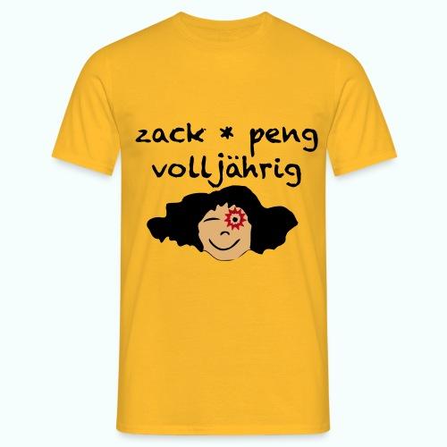 zack peng volljährig  - Men's T-Shirt