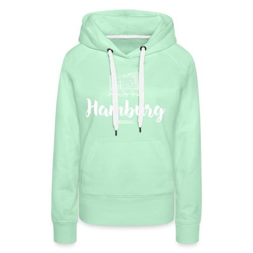 Hamburg Elphi weiß Pullover & Hoodies - Frauen Premium Hoodie
