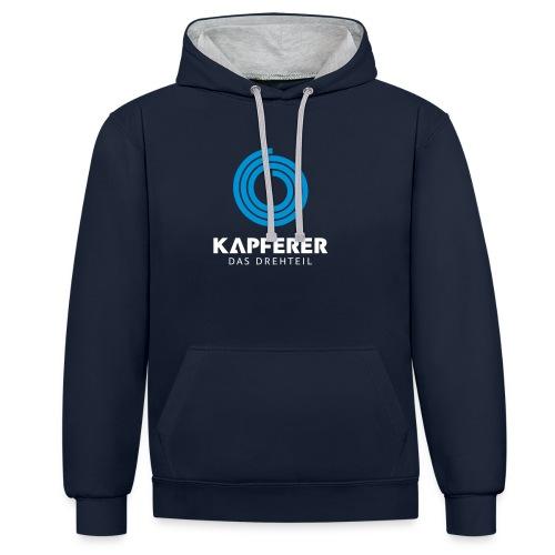 Kapferer Men's Hoodie - Kontrast-Hoodie