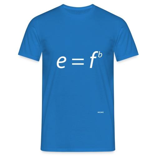 Einstein for musicians - Camiseta hombre