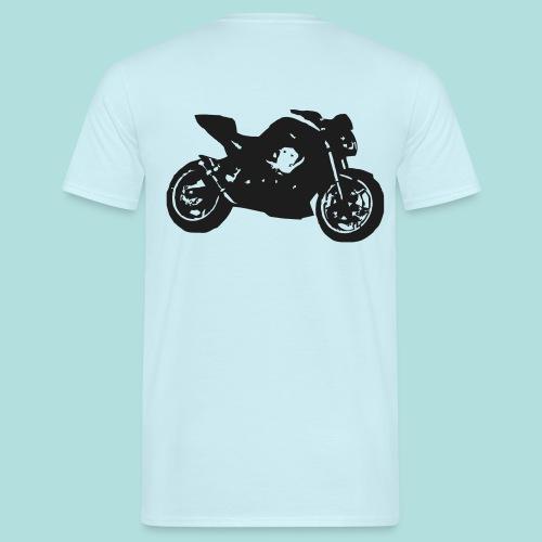 Black Z hinten - Männer T-Shirt