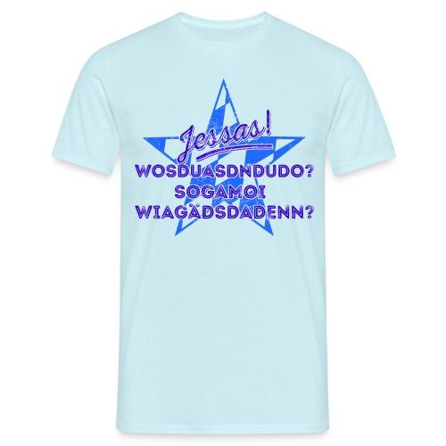 Jessas! für ganz helle Shirts - Männer T-Shirt