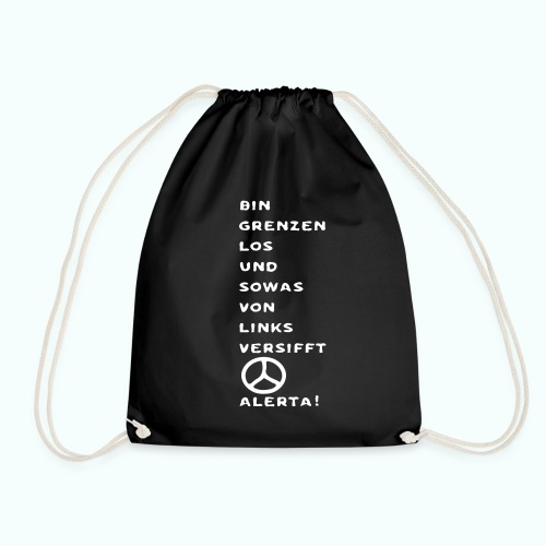 linksversifft  Taschen & Rucksäcke - Drawstring Bag