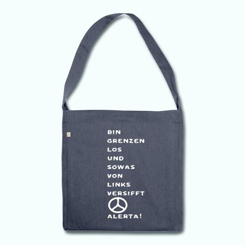 linksversifft  Taschen & Rucksäcke - Shoulder Bag made from recycled material