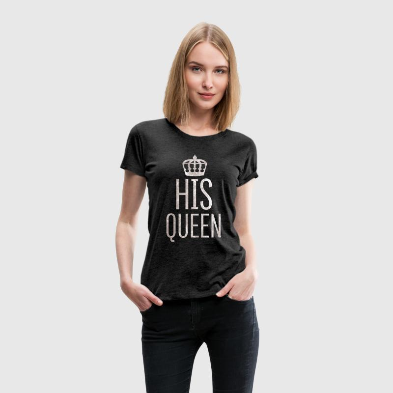 Queen // Partnershirt (Silver Edition) - Frauen Premium T-Shirt