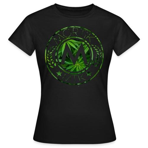 T-Shirt Femme MORTIK Roma Logo Weed Edition - T-shirt Femme