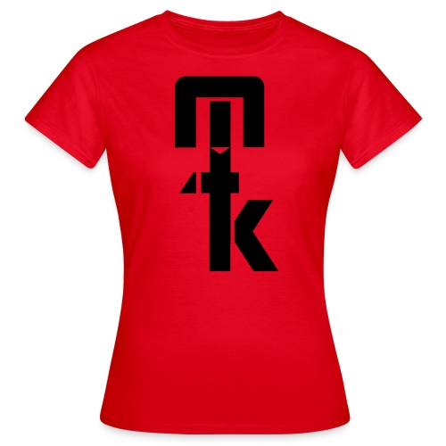 T-Shirt Femme Rouge MTK 2017 Logo Nor - T-shirt Femme