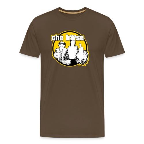 the böse-Logo/ yellow - Männer Premium T-Shirt