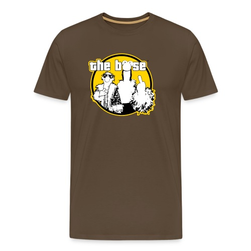 the böse-Logo/ yellow - Männer Premium T-Shirt