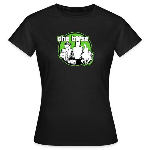 the böse-Logo/green - Frauen T-Shirt
