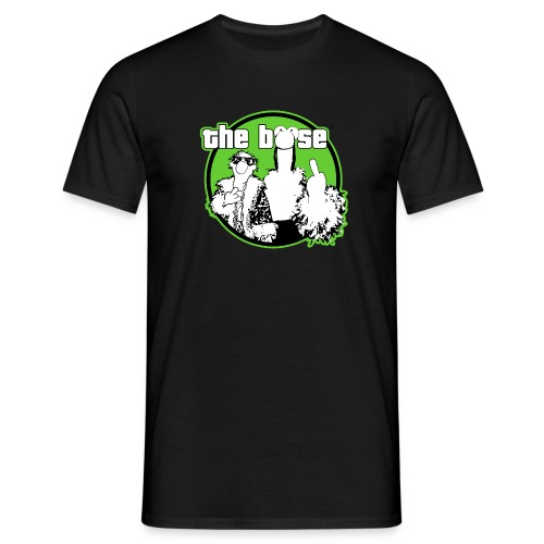 the böse-Logo/ green - Männer T-Shirt