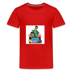 Teenage Premium T Shirt JORGE NEWS : red - Teenage Premium T-Shirt