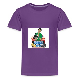 Teenage Premium T Shirt JORGE NEWS : purple - Teenage Premium T-Shirt