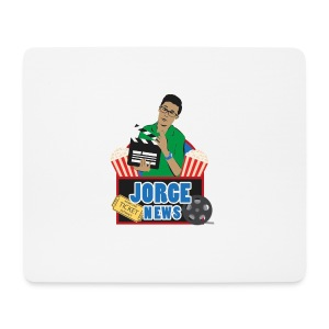 Mouse Pad (horizontal) JORGE NEWS : white - Mouse Pad (horizontal)