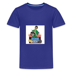 Teenage Premium T Shirt JORGE NEWS : royal blue - Teenage Premium T-Shirt