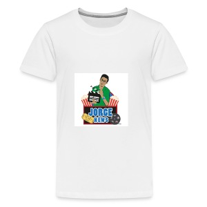 Teenage Premium T Shirt JORGE NEWS : white - Teenage Premium T-Shirt