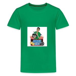 Teenage Premium T Shirt JORGE NEWS : kelly green - Teenage Premium T-Shirt
