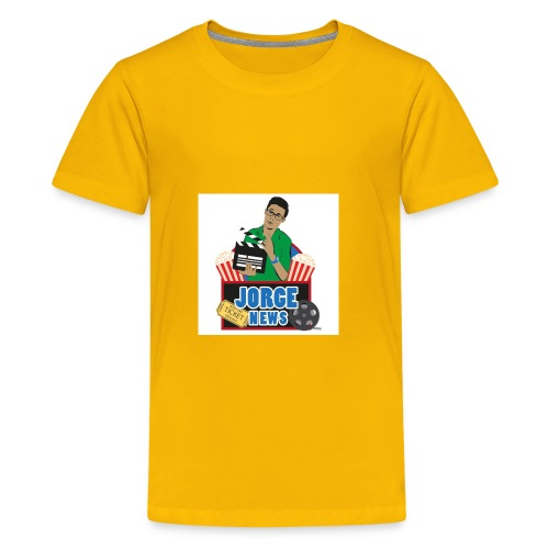 Teenage Premium T Shirt JORGE NEWS : sun yellow - Teenage Premium T-Shirt