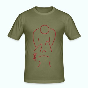 lover - Männer Slim Fit T-Shirt