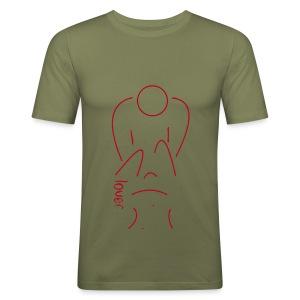lover - Männer Slim Fit T-Shirt