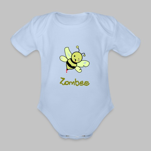 Body bébé ZomBee - Organic Short-sleeved Baby Bodysuit