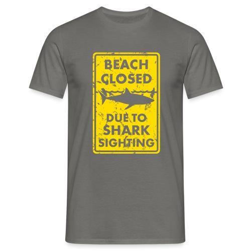 Surfer T-Shirt SHARK SIGHTING - Männer T-Shirt