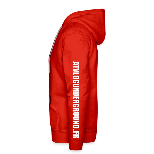 Sweat Capuche FULL (flocage Buste + Dos + Manches) 10 couleurs