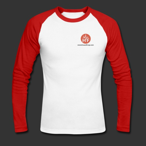 Housefreqs.com - Men's Long Sleeve Baseball T-Shirt
