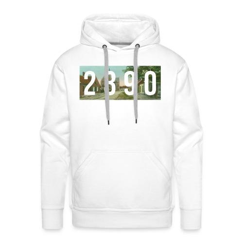2390 - vintage - Mannen Premium hoodie