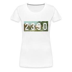 2390 - vintage - Vrouwen Premium T-shirt