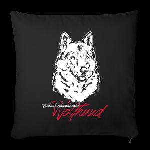 tschechoslowakischer Wolfhund (TWH) - Sofakissenbezug 44 x 44 cm
