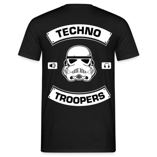 Techno Troopers T-shirt | Men | black - Männer T-Shirt